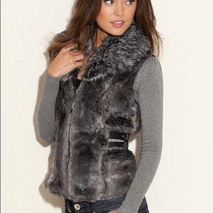 Guess Gigi Faux Fur Vest